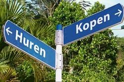 Groep Huizen en Kamers verdeeld in Koop en Huur