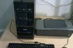 Tekoop Computer (z.g.a.n.) Srd. 595,- Tel. 8710035