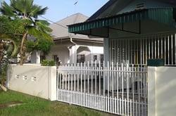 vakantiewoningen Jelano in villa wijk uitvlugt Suriname