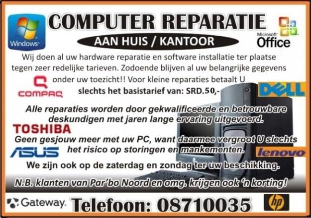 ComputerreparatieNIEUWESTIJL